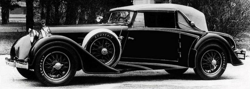 Автомобиль Austro-Daimler ADR-6 Bergmeister Spezial-Cabriolet