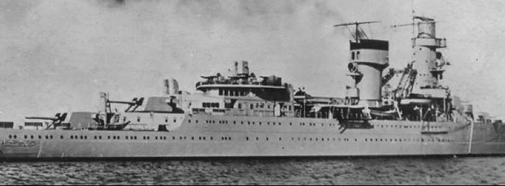 Легкий крейсер «De Ruyter»