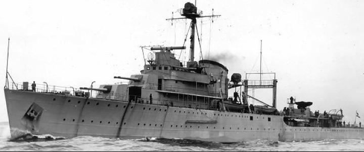 Легкий крейсер «Tromp»