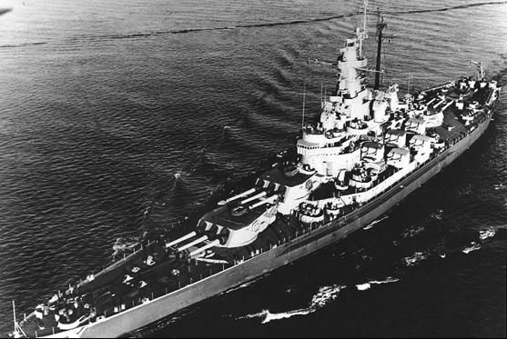 Линейный корабль «Massachusetts» (ВВ-59)