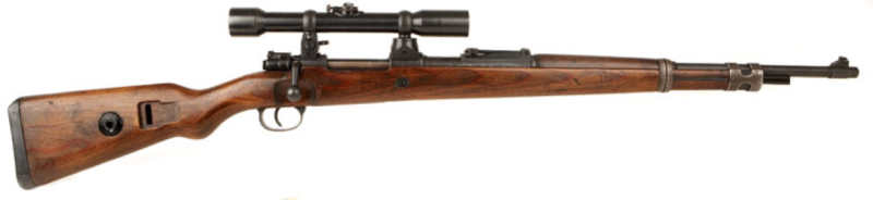 Карабин Mauser 98k с оптическим прицелом ZF-41