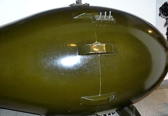 Атомная бомба Толстяк (Fat Man)