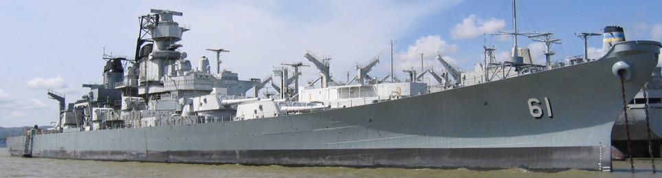 Линейный корабль «Iowa» (ВВ-61)