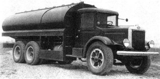 Цистерна на базе Mk-ЕХВХ