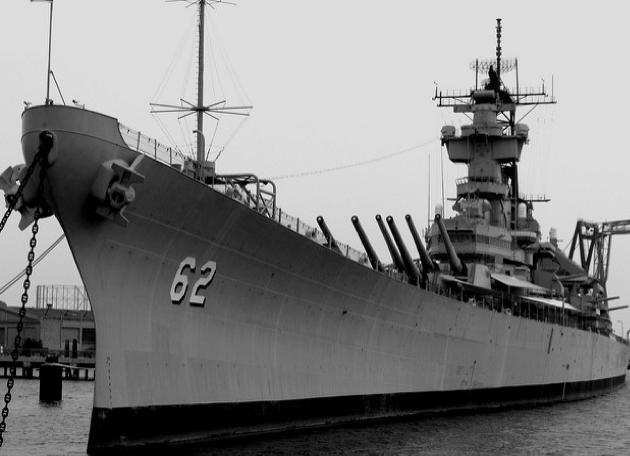 Линейный корабль «New Jersey» (ВВ-62)