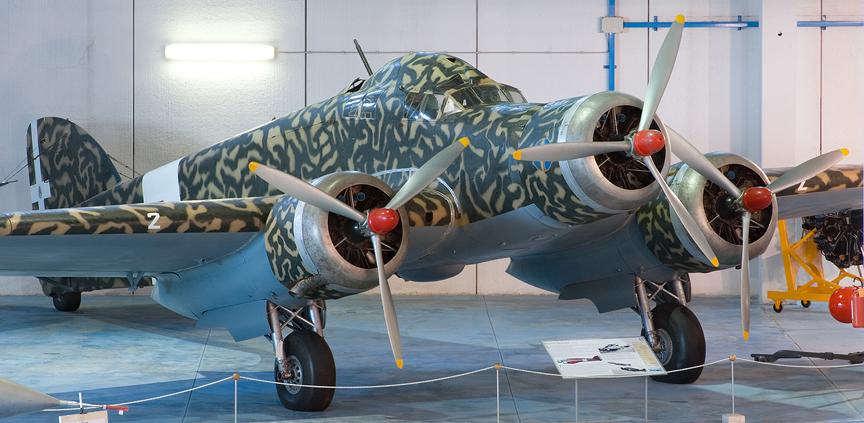 Бомбардировщик SM.79 Sparviero