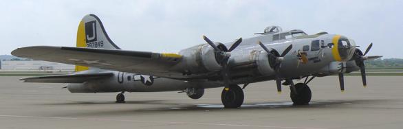 Бомбардировщик Boeing B-17G