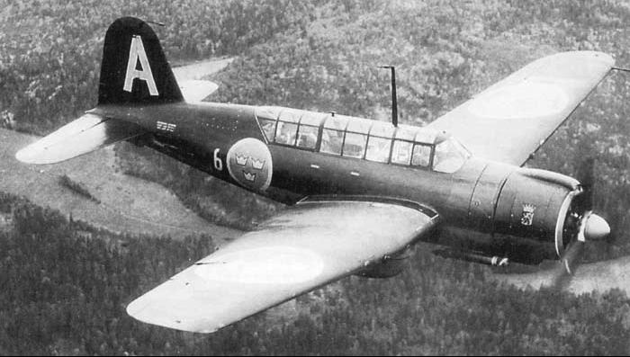 Бомбардировщик SAAB B-17A