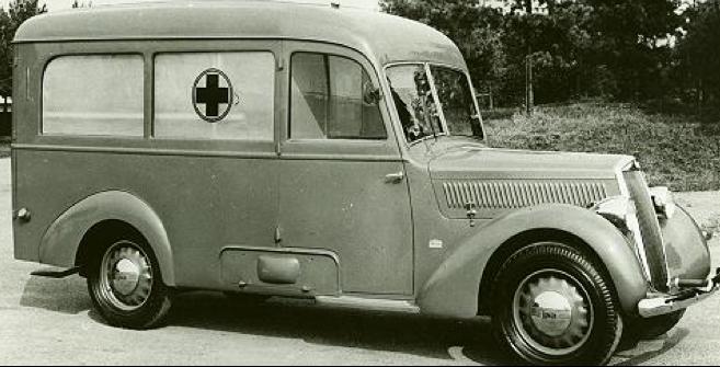 Санитарная машина на базе Lancia Artena