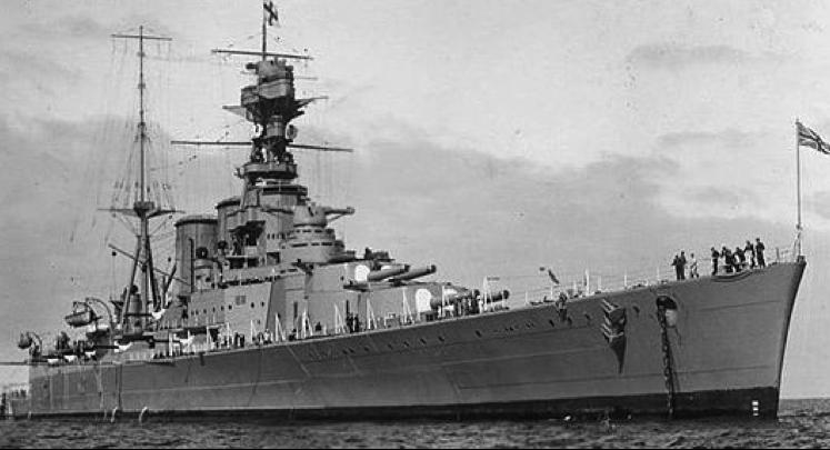 Линейный крейсер «Repulse».