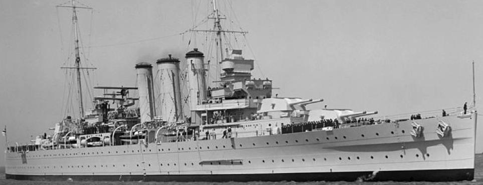 Тяжелый крейсер «Australia»