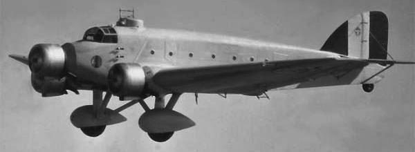 Бомбардировщик SM.81 Pipistrello