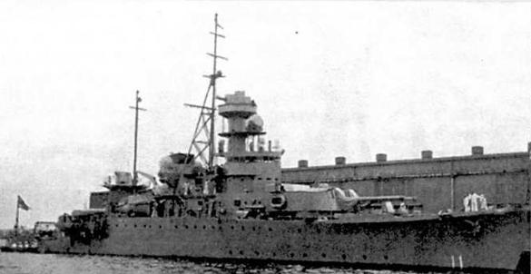 Броненосец береговой обороны «Dhonburi». Боевая рубка с надстройкой и носовая башня «Dhonburi»