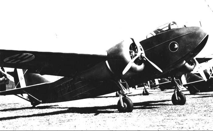 Бомбардировщик SM.85