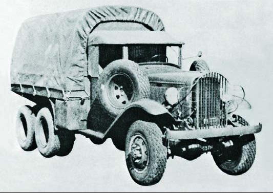 Грузовик Marmon-Herrington А-30
