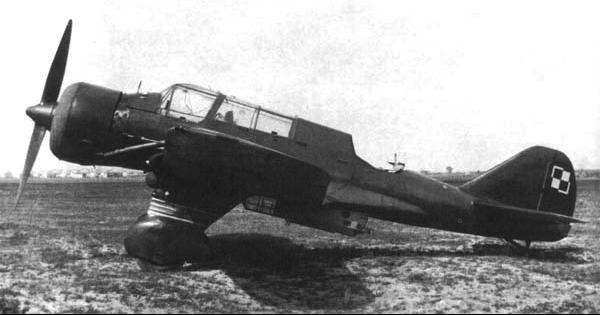 Бомбардировщик PZL Karas Р-23А