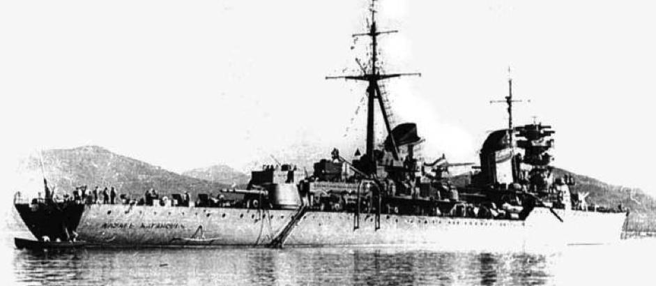 Легкий крейсер «Каганович»