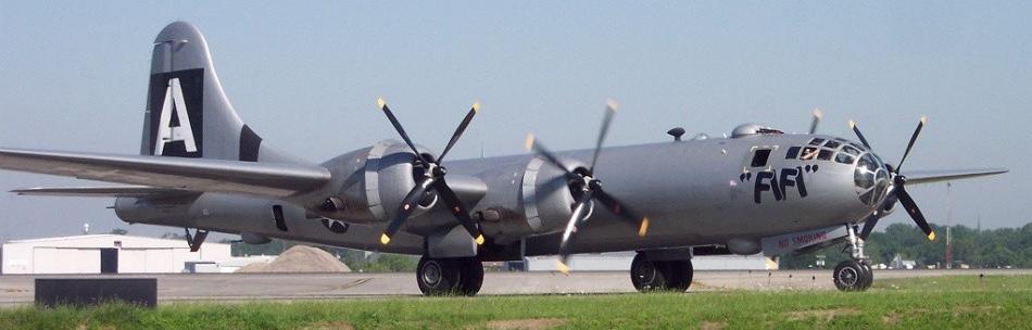 Бомбардировщик Boeing B-29 Superfortress