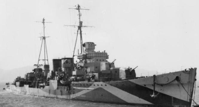 Легкий крейсер «Delhi»