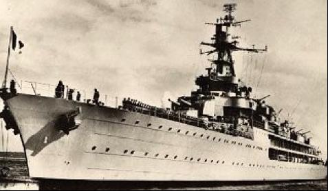 Легкий крейсер «Jeanne D'Arc»