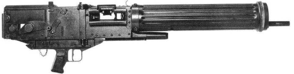 Танковый пулемет Vickers 12,7 мм Mk-5