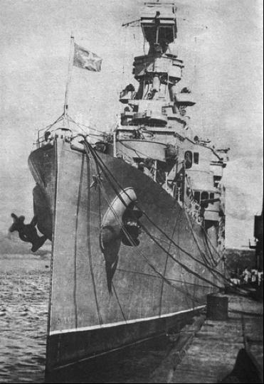 Легкий крейсер «Мурманск» («Milwaukee»)