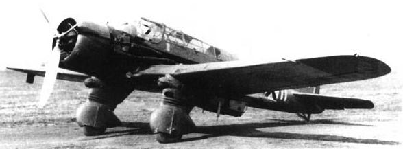 Бомбардировщик  Karas   P-43B