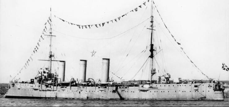 Крейсер - минный заградитель «Коминтерн»