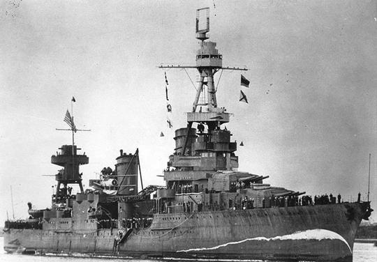 Тяжелый крейсер «Northampton» (СА-26)