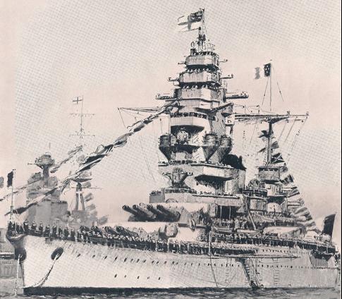 Линейный корабль «Dunkerque»