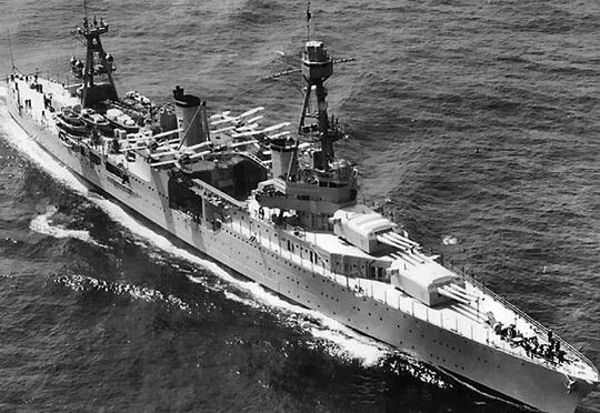 Тяжелый крейсер «Chicago» (СА-29)
