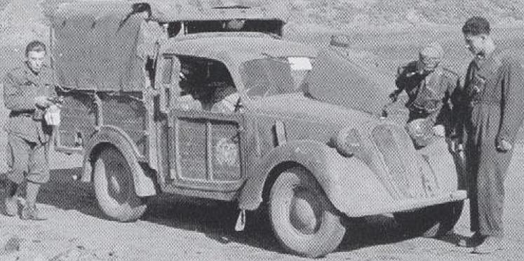 Пикап Fiat-508 Lieferwagen