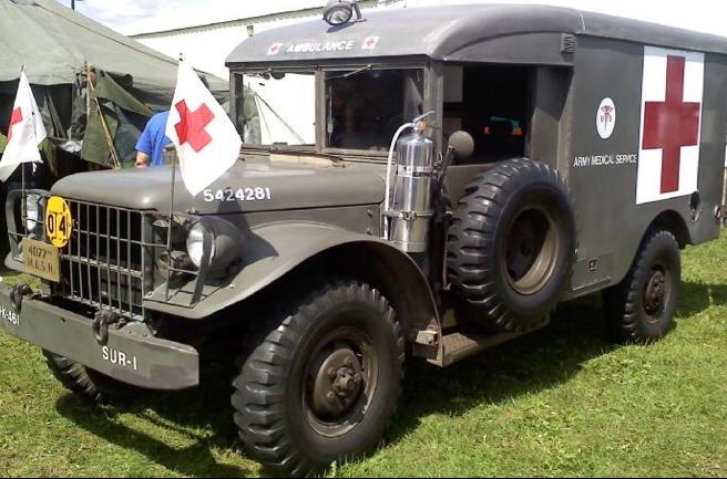 Санитарная машина Dodg WC-64