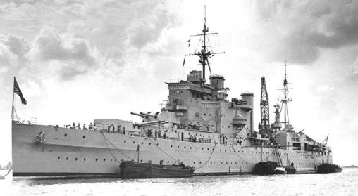 Тяжелый крейсер «London»