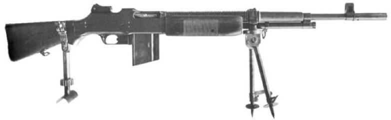 Пулемет Browning M-1922 BAR