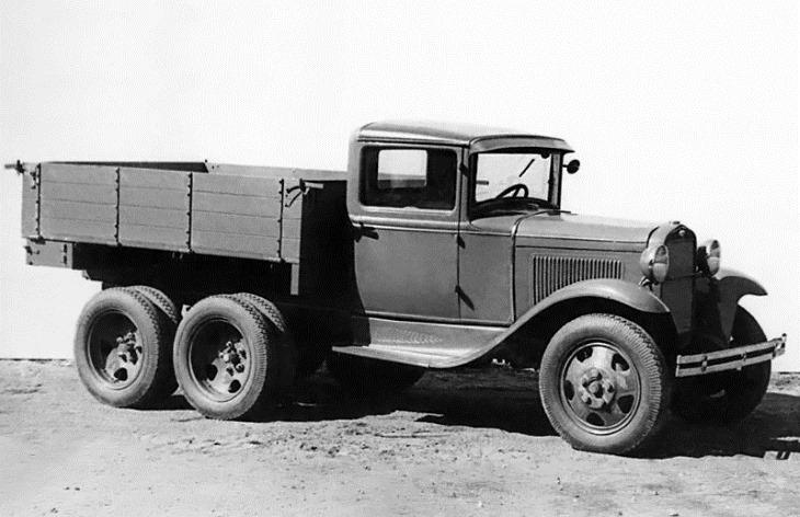 Бортовой грузовик ГАЗ-ААА
