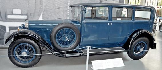 Автомобиль Austro-Daimler ADR 12/70 PS Limousine