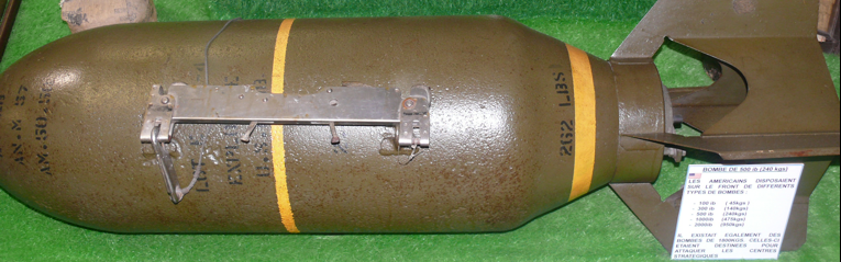 Фугасно-осколочная бомба AN-M-57