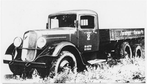 Трехосный грузовик Sisu SH-3R-LF