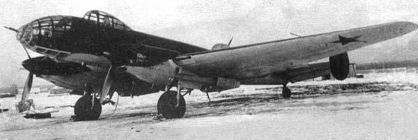Бомбардировщик Ер-2 2АМ-37