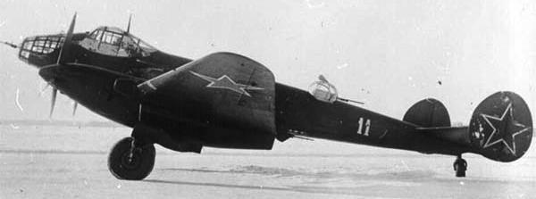 Бомбардировщик - Ер-2 2АЧ-30Б