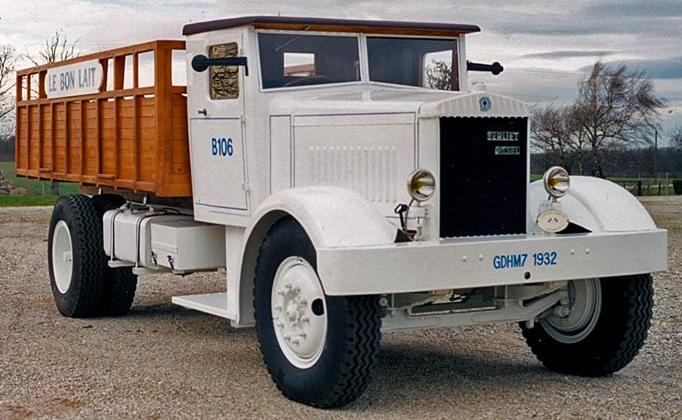 Бортовой грузовик Berliet GDHM-7