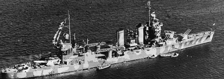 Тяжелый крейсер «Tuscaloosa» (СА-37)
