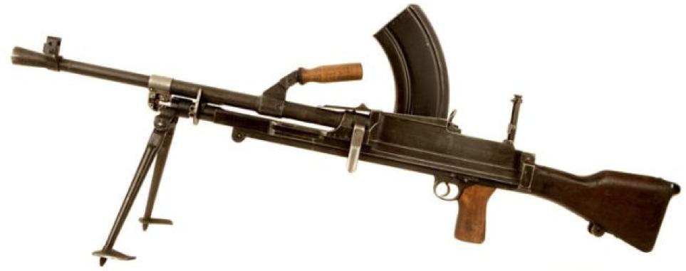 Ручной пулемет Bren Mk-2
