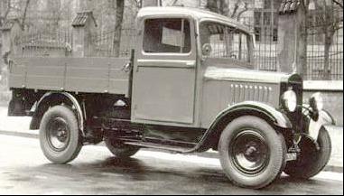 Бортовой грузовик Praga LN