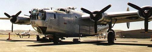 Бомбардировщик Consolidated B-24 Liberator