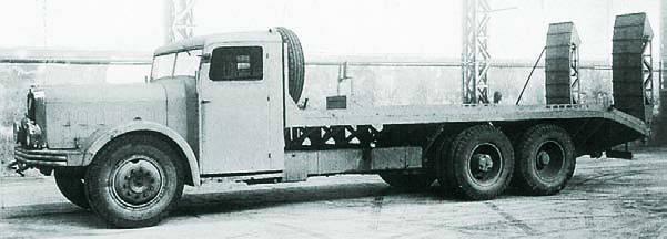 Грузовик Bernard DI-6C