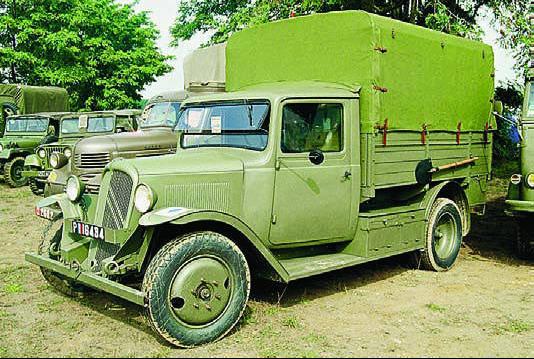 Бортовой грузовик Citroёn 23-U