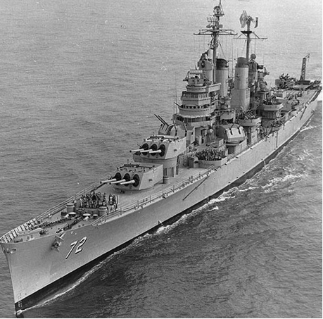 Тяжелый крейсер «Pittsburgh» (CA-72).