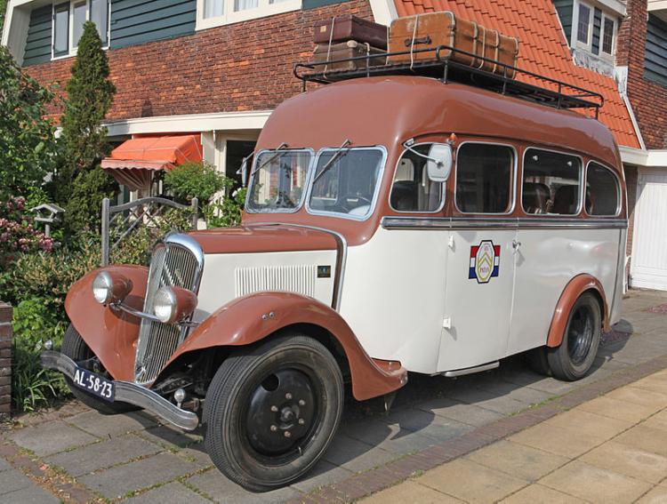 Автобус на короткобазовом шасси Citroёn 23-U